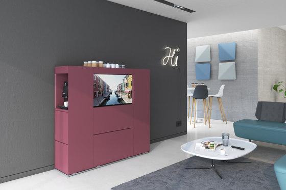 Isola Lounge de Estel Group | Aparadores multimedia