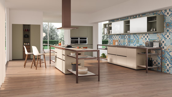 Isola Party by Estel Group   Compact kitchens