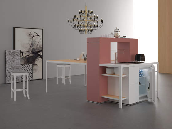 Isola Snack by Estel Group | Compact kitchens
