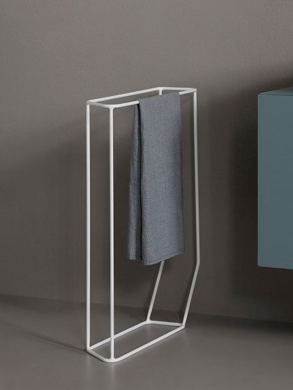 Forma Freestanding Towel Rack by Inbani | Towel rails