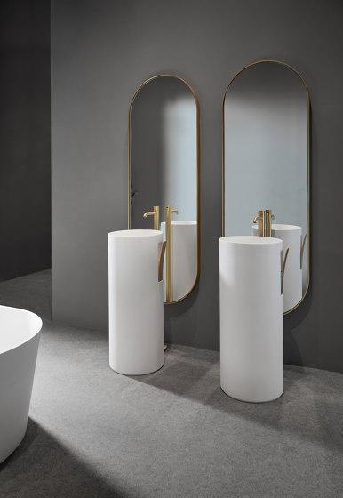 Giro Espejo simple con Marco Metálico de Inbani   Espejos de baño