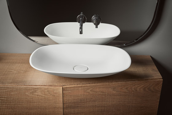 Forma Vasque à poser en Topsolid L60 de Inbani | Lavabos