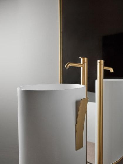 Giro Freestanding Solidsurface Washbasins by Inbani | Wash basins