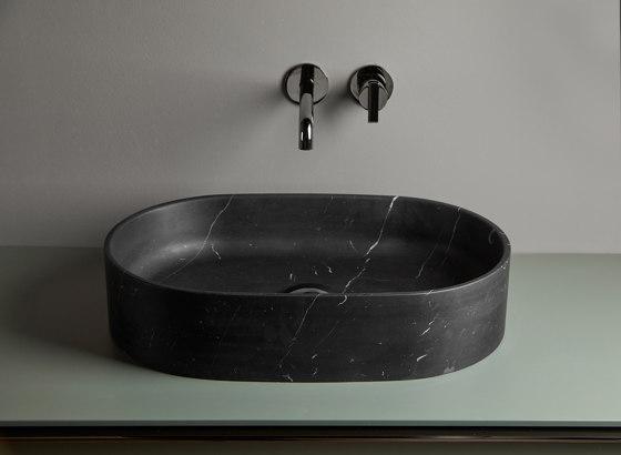 Giro Marble Top mounted washbasin by Inbani | Wash basins