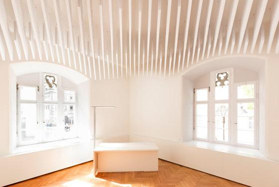Basotect | designed acoustic baffle basotect de SPÄH designed acoustic | Systèmes plafonds acoustiques