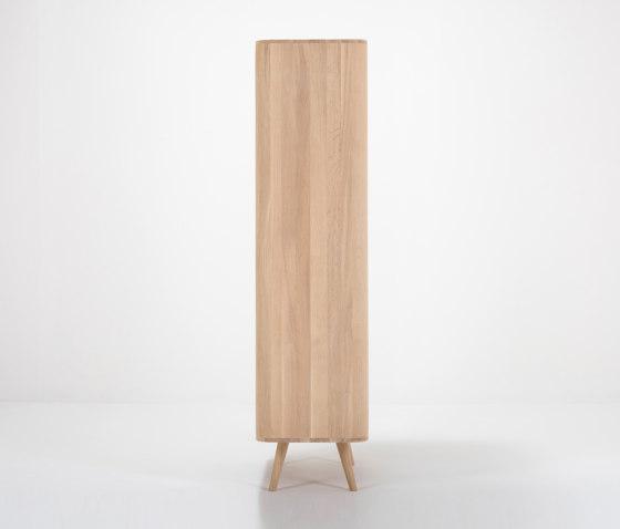 Ena cabinet | 90x42x170 by Gazzda | Sideboards