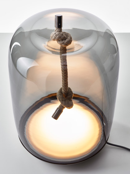 Knot Cilindro Table PC1078 de Brokis | Lámparas de sobremesa