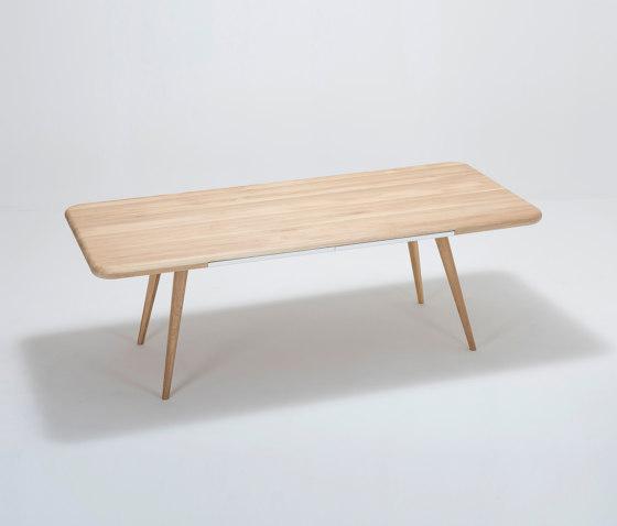 Ena table one | 220x100x75 by Gazzda | Dining tables
