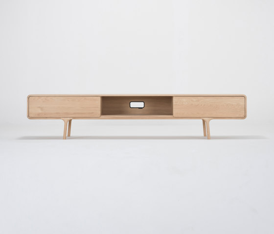 Fawn lowboard | 2 drawers by Gazzda | Sideboards