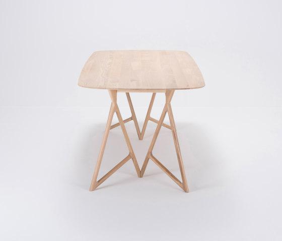 Koza table | 220x90x75 | oak by Gazzda | Dining tables