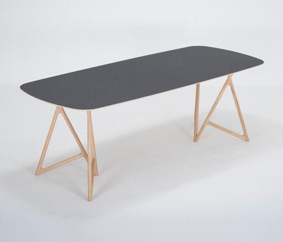 Koza table   220x90   linoleum by Gazzda   Dining tables