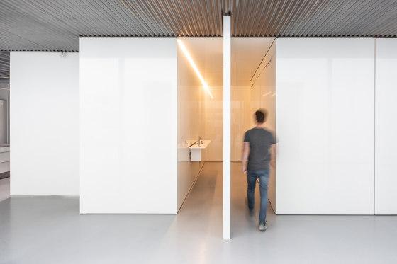 System 3   Big White Pivot Door by FritsJurgens   Hinges