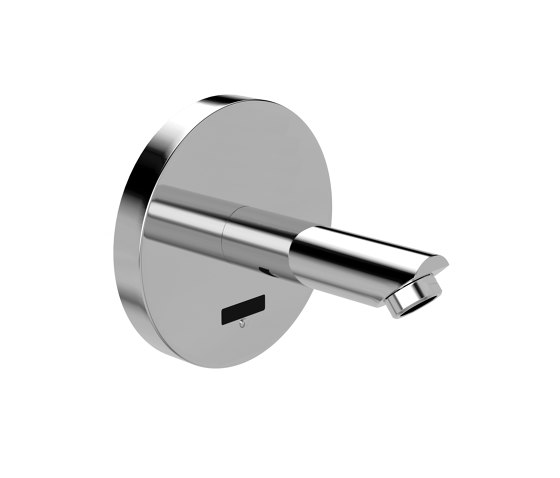 lino concealed wall-mounted faucet WV20, with IR-Sensor, without mixing, chrome - battery | VARIOconnect de CONTI+ | Grifería para lavabos