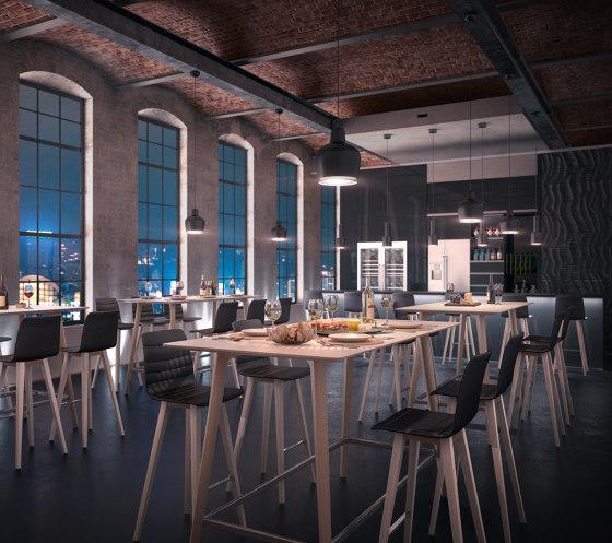 fina club de Brunner | Mesas altas