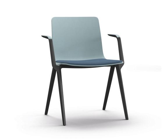 A-Chair 9709/A de Brunner   Sillas