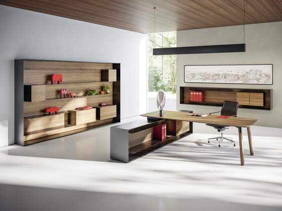 Outline by Fantoni | Wall storage systems