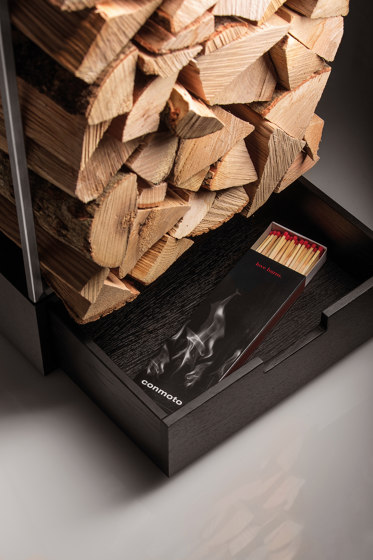 Margo Firewood Store by conmoto | Fireplace accessories