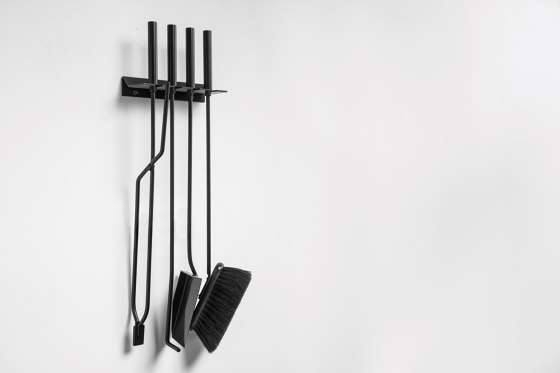 Murus Companion Set by conmoto | Fireplace accessories