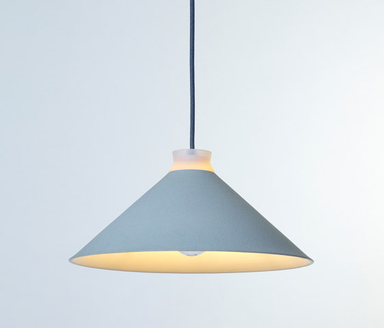 Fuji Colour (Duck Egg) by Hand & Eye Studio | Suspended lights