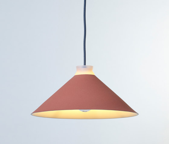 Fuji Colour (Coral) by Hand & Eye Studio | Suspended lights