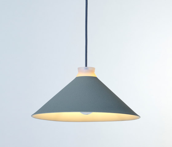 Fuji Colour (Pigeon) by Hand & Eye Studio | Suspended lights
