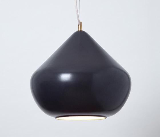 Chroma (Liquorice) by Hand & Eye Studio | Suspended lights