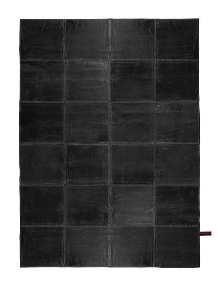 LeatheRrug  black by massimo copenhagen | Rugs