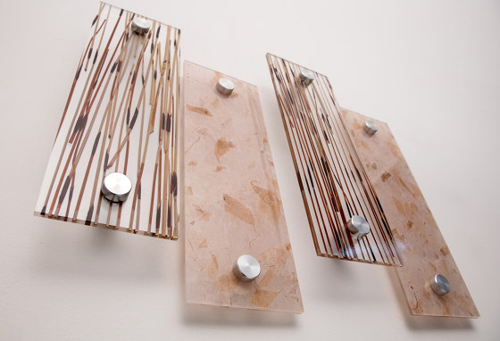 Decorative Mounting of Resin Panels by Gyford StandOff Systems® | Glass holders