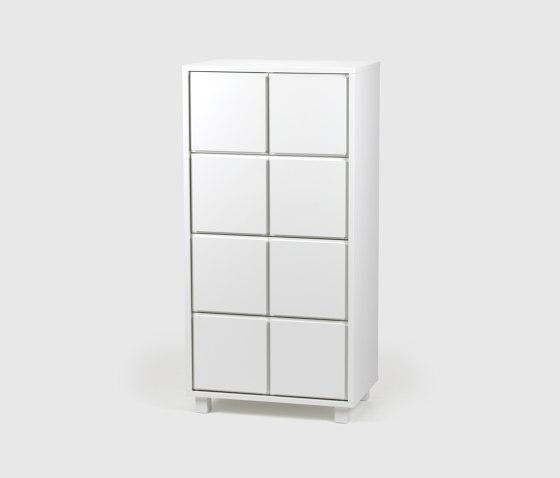 Drawer 4, White by Scherlin | Sideboards