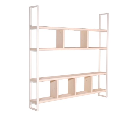 Susteren Wit by JOHANENLIES | Shelving