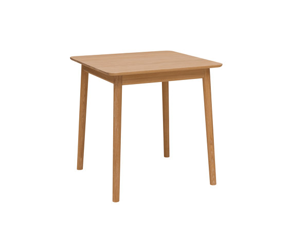 ZigZag table 75x75cm oiled oak by Hans K | Dining tables