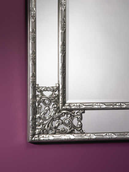 Angolo Silver by Deknudt Mirrors | Mirrors