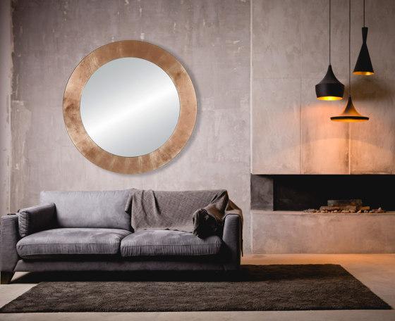 Basic Copper Circle by Deknudt Mirrors   Mirrors