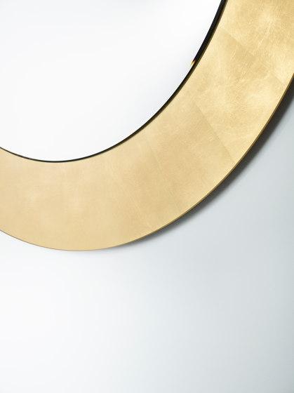 Basic Gold Circle by Deknudt Mirrors   Mirrors