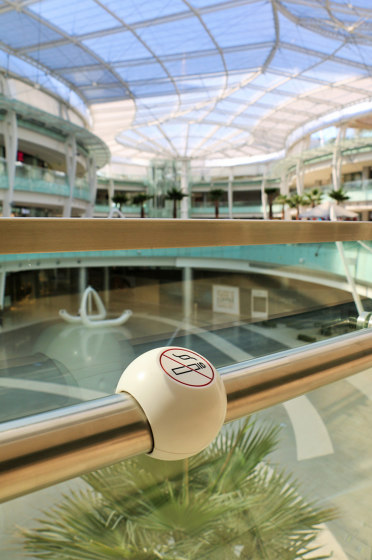 Avonite® | Interior Abdali Mall de Rosskopf + Partner | Pictogramas