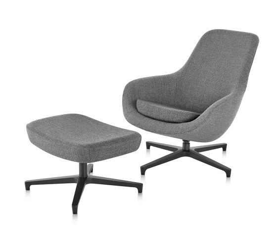 Saiba Lounge Chair and Ottoman by Herman Miller | Armchairs