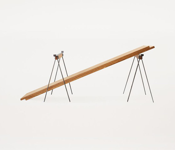 F56 Trestle Table   incl planks by Frama   Trestles
