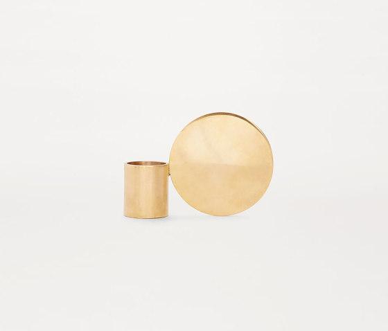 Fundament Brass Edition by Frama | Candlesticks / Candleholder