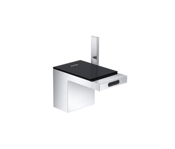AXOR Single lever bidet mixer with push-open waste set by AXOR | Bidet taps