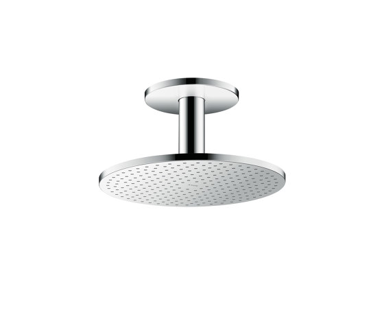 AXOR Overhead shower 300 2jet with ceiling connection by AXOR | Shower controls
