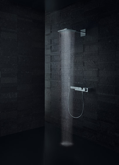 AXOR Overhead shower 250/250 2jet with shower arm by AXOR   Shower controls