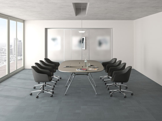 Convo conference table by RENZ   Contract tables