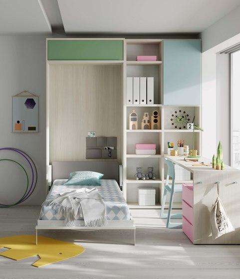 Folding bed 39 di JJP Muebles | Letti infanzia