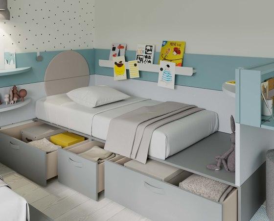Nest 36 de JJP Muebles | Camas de niños / Literas