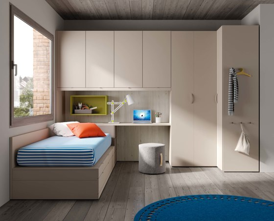 Dormitorio Juvenil 19 de JJP Muebles   Camas de niños / Literas