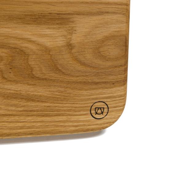 Ei-Pad Breakfast Board (Oak) by Anton Doll | Chopping boards
