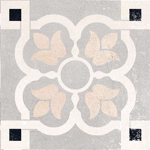 Opus Cementina Multicolor Grigia by Casalgrande Padana | Ceramic flooring