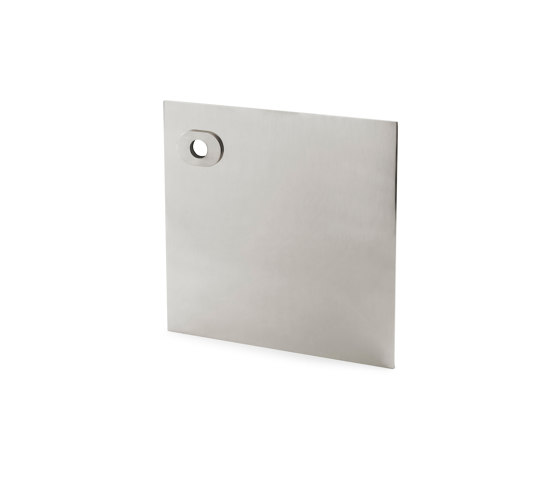 Stardust Smooth square Plate by Vervloet   Handle backplates
