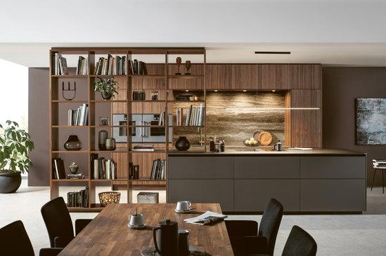 NX 870 FENIX mocha brown fine matt AFP by next125   Fitted kitchens