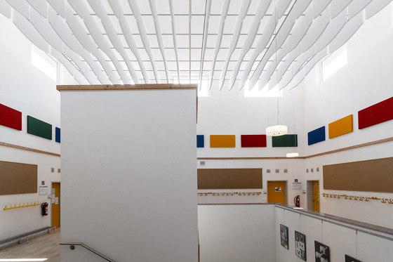 da baffle single absorber di SPÄH designed acoustic | Sistemi assorbimento acustico decorazioni parete